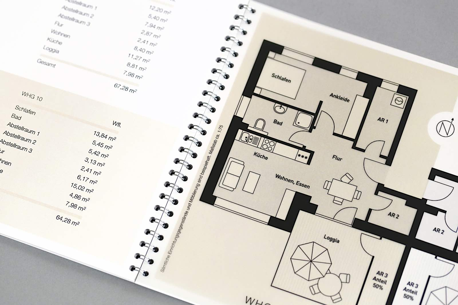 Exposé Design Grundriss